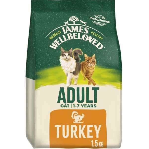 James Wellbeloved Complete Adult Dry Cat Food - Turkey