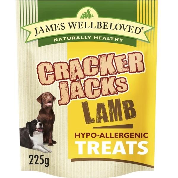 James Wellbeloved CrackerJacks Hypo-Allergenic Dog Treats - Lamb