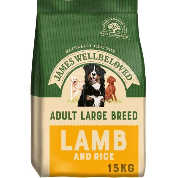 James Wellbeloved Large Adult Dry Dog Food - Lamb & Rice