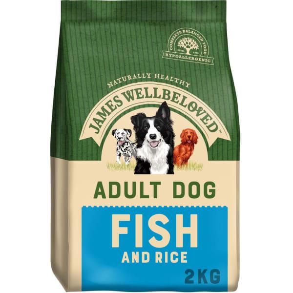 James Wellbeloved Adult Dry Dog Food - Ocean White Fish & Rice