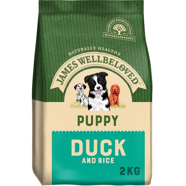James Wellbeloved Medium Adult Dry Dog Food - Duck & Rice