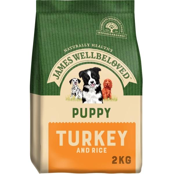 James Wellbeloved Medium Puppy Dry Dog Food - Turkey & Rice