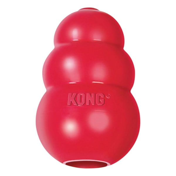 Kong Classic Chew Dog Toy in Red