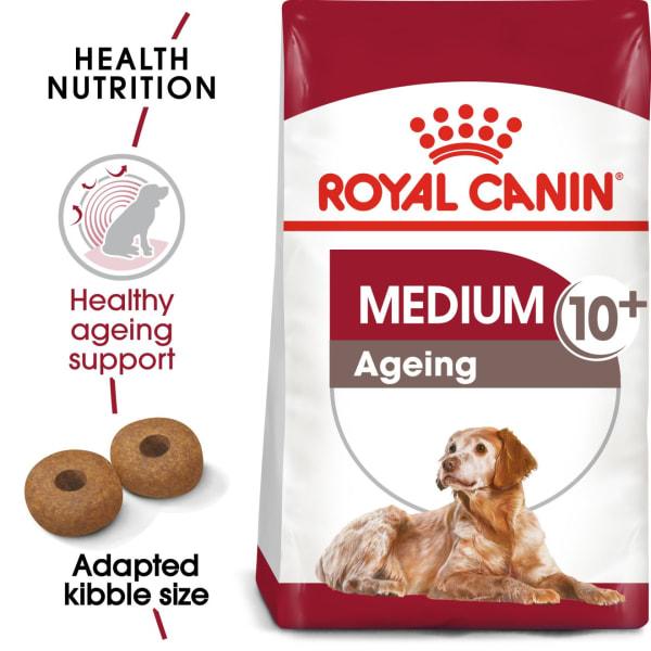 Royal Canin Medium Senior Ageing 10+ Dry Dog Food