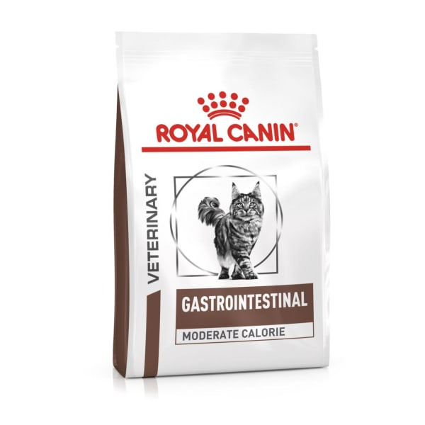 Royal Canin Veterinary Diet Gastrointestinal Moderate Calorie Adult Dry Cat Food