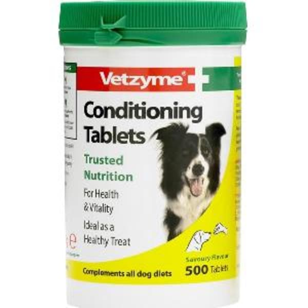 Vetzyme Conditioning Trusted Nutrition Tablets