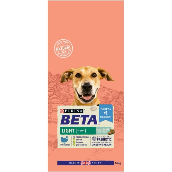 BETA Light Adult 1+ Years Dry Dog Food - Turkey