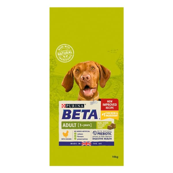 BETA Adult 1+ Years Dry Dog Food - Chicken