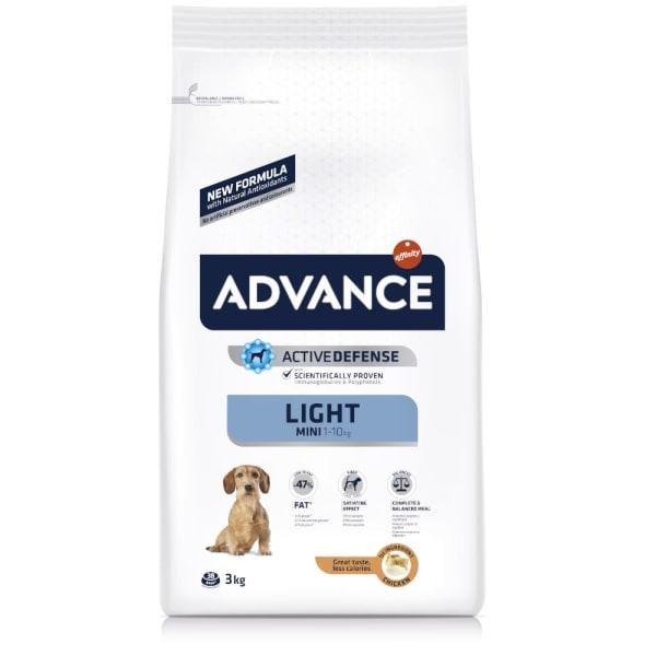 Advance Mini Light Dry Dog Food - Chicken & Rice
