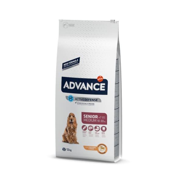 Advance Medium Senior Dry Dog Food - Chicken & Rice