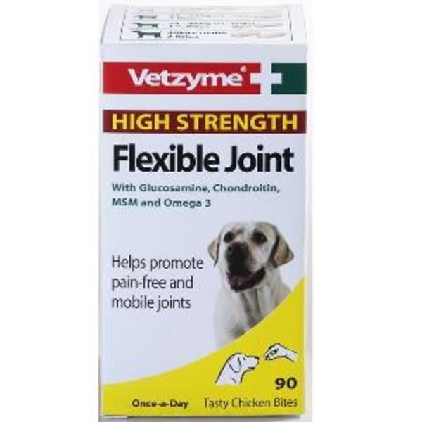 Vetzyme High Strength Flexible Joint Tablets