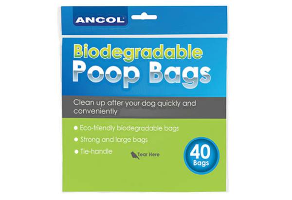 Ancol Bio Degradable Dog Waste Bags