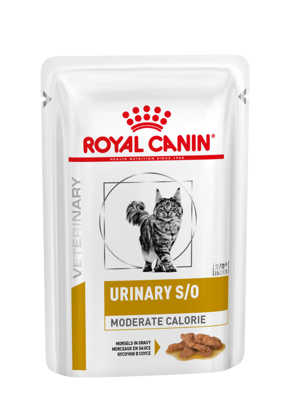 Royal Canin Urinary Moderate Calorie Adult Cat Wet Food - Morsels in Gravy