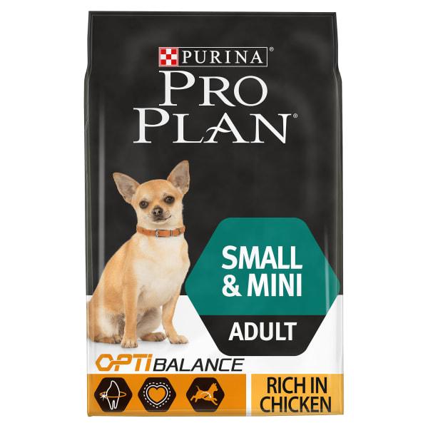 Purina Pro Plan Opti Balance Small & Mini Adult Dry Dog Food - Chicken