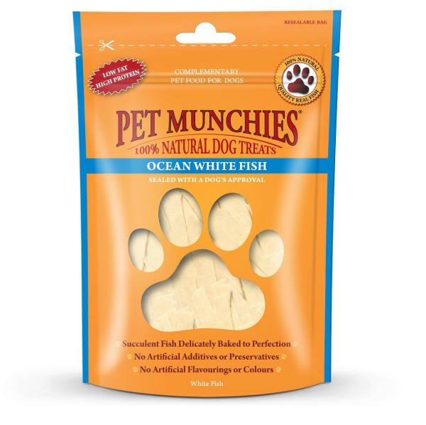 Pet Munchies Dog Treats - Ocean White Fish