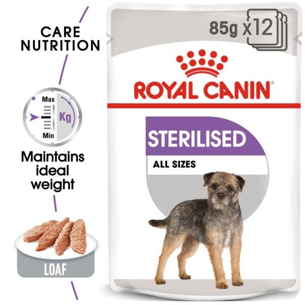 Royal Canin Sterilised Care Adult Wet Dog Food