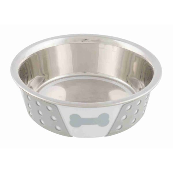 Trixie Stainless Steel Bowl with Silicone