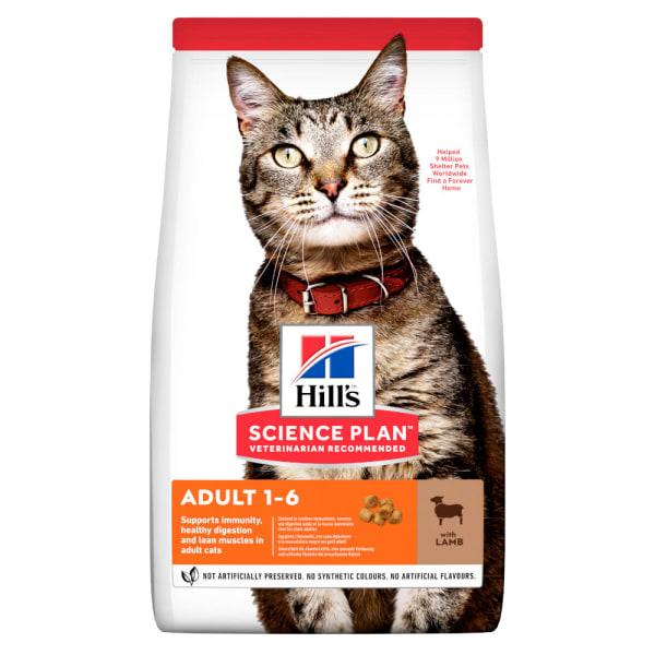 Hill's Science Plan Adult 1-6 Dry Cat Food - Lamb