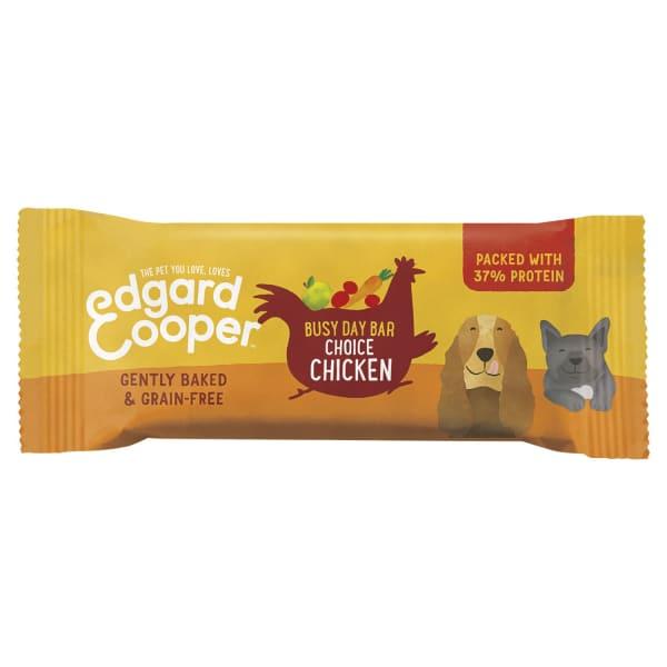 Edgard & Cooper Grain Free Busy Day Bar Dog Treats - Chicken