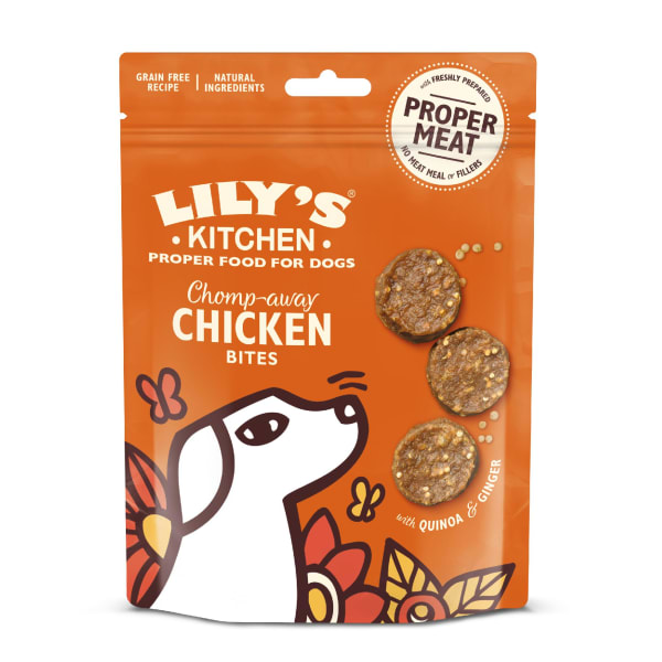 Lily's Kitchen Dog Chomp-Away Adult Dog Treats - Chicken