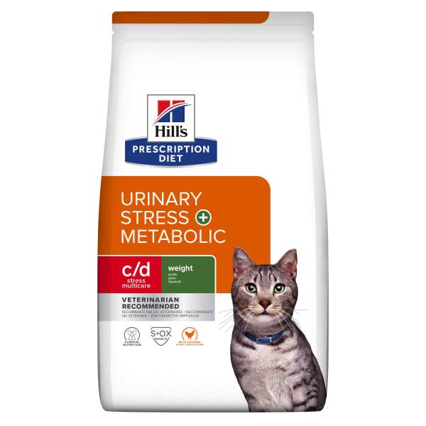 Hill's Prescription Diet Feline c/d Multicare Stress + Metabolic Dry Cat Food - Chicken