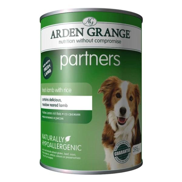Arden Grange Partners Adult Wet Dog Food - Fresh Lamb & Rice