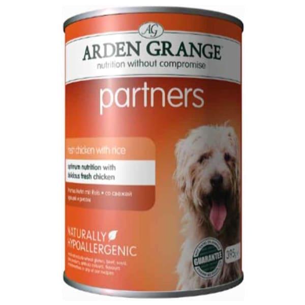 Arden Grange Partners Adult Wet Dog Food - Fresh Chicken & Rice