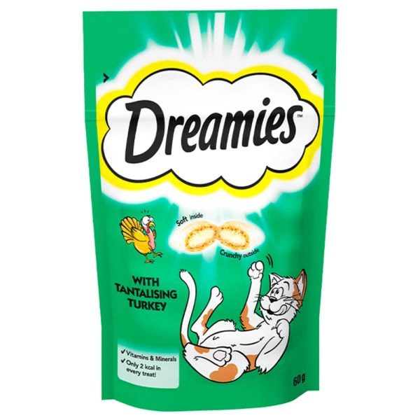 Dreamies Cat Treats - Turkey