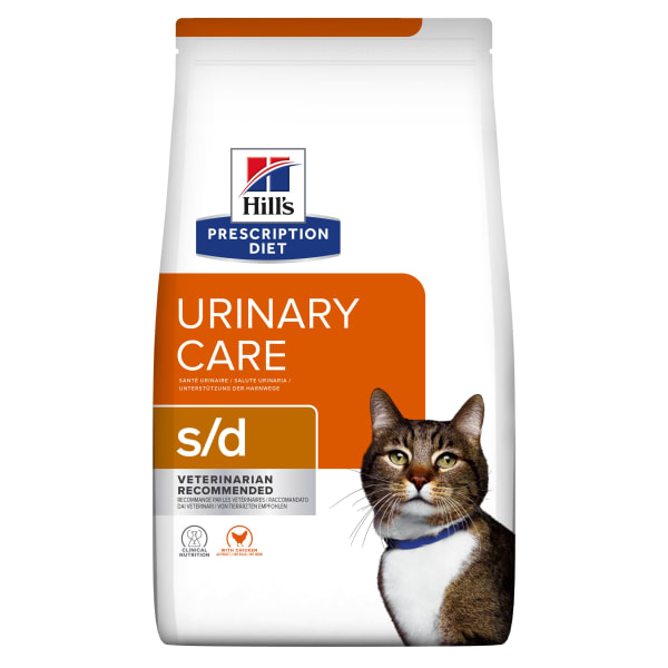 Hill's Prescription Diet Urinary Care s/d Adult Dry Cat Food - Chicken