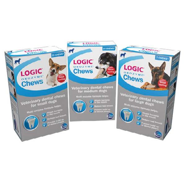 Logic Orozyme Chews for Medium Dog