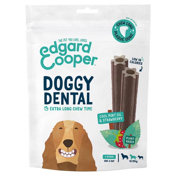 Edgard & Cooper Strawberry & Mint Medium Doggy Dental Treat