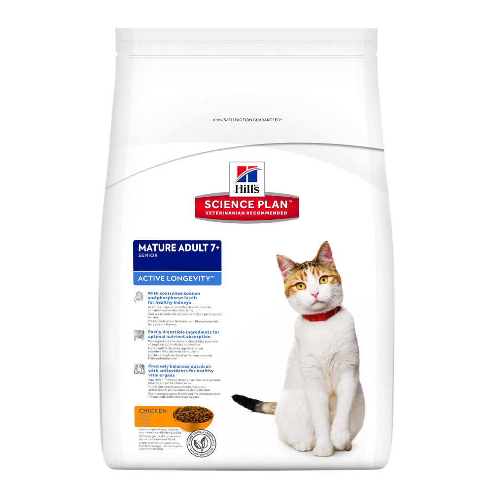 Hills Science Plan Active Longevity Cat Food